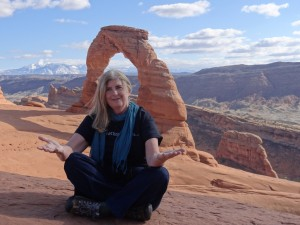 Trish @ Arches National Park, Moab, UT