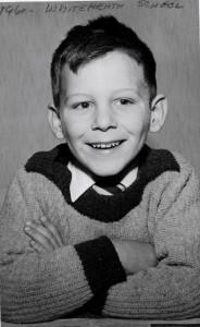 John @ Whiteheath Ave. School, Ruislip, England - 1962